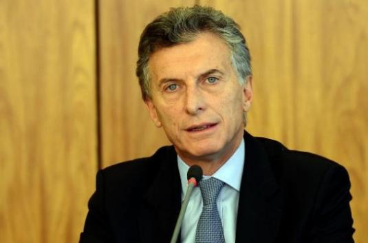アルゼンチン大統領のマウリシオ・マクリ氏