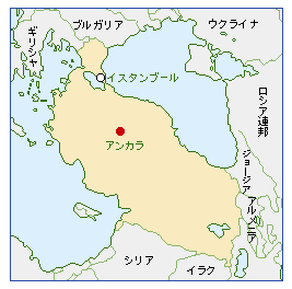 トルコの地理